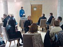 корпоративный тренинг интенсив Харизматичный Оратор для Холдинга в Москве
