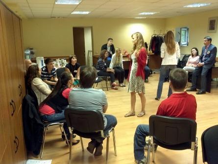 Тренинг публичных выступлений