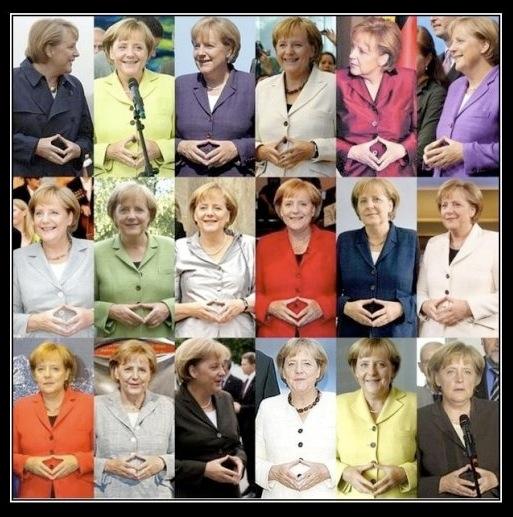 Ангелина Меркель - Осторожней с суперклеем